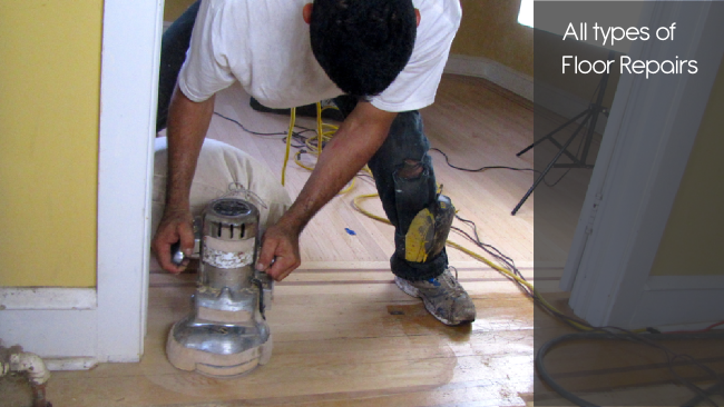 Wood Flooring Repairs Throughout Central Maryland